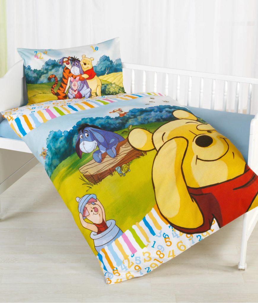 Sale I Disneys Winnie the Pooh Flanell Bettwäsche 40x60 ...