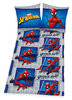Marvels Spider-Man Spiderman Flanell Bettwäsche 80x80 135x200cm