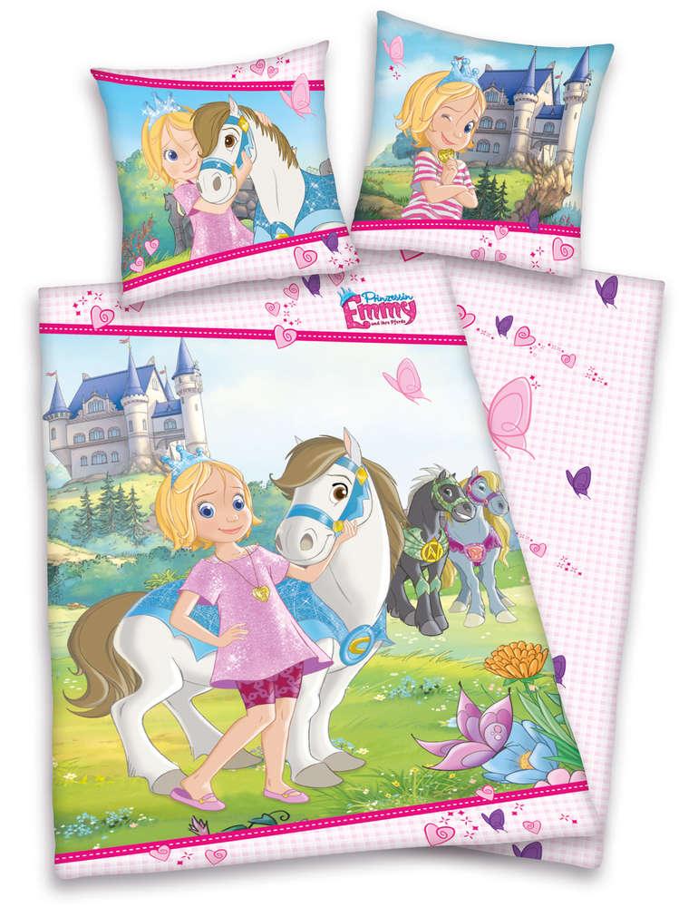 Sale I Prinzessin Emmy Und Ihre Pferde Bettwäsche 80x80 135x200cm