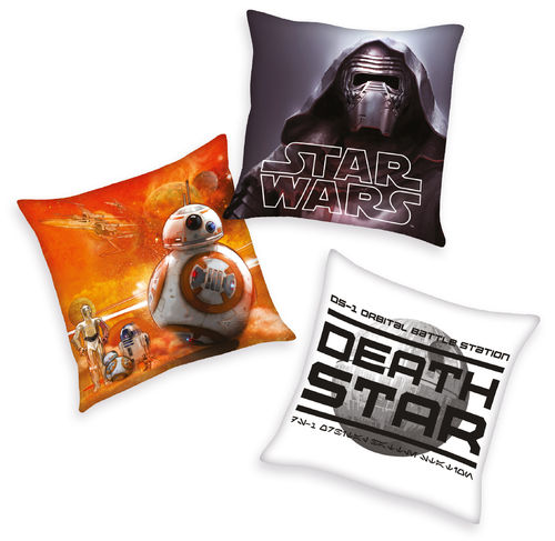 Disneys Star Wars 3er Set Dekokissen 40x40cm