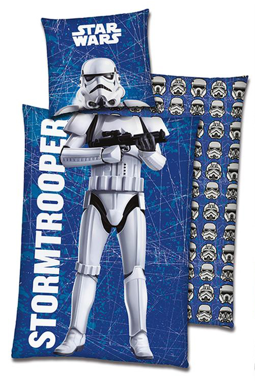 Sale I Disneys Star Wars Stormtrooper Bettwäsche 80x80 135x200cm