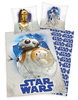 Disney`s Star Wars Bettwäsche C3PO R2D2 BB8 80x80 + 135x200 cm